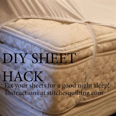 Bed Sheet Straps Diy Projects