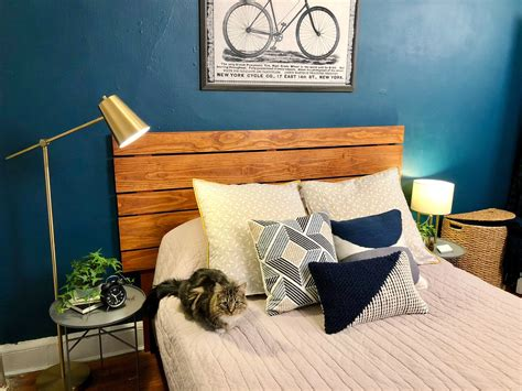 Bed Slats Head Board Diy Projects