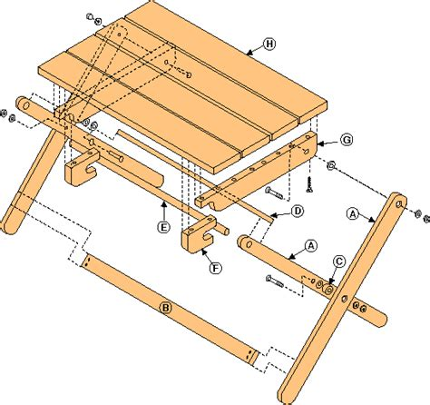 Bed Tv Tray Plans Free