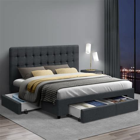 Bed With Drawers In Base