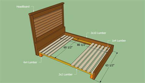 Bed-Frame-Plans