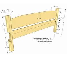 Best Bed headboard woodworking plans.aspx