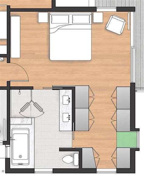 Bedroom A Closet Plan