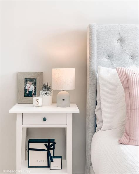 Bedroom End Table Decor Ideas