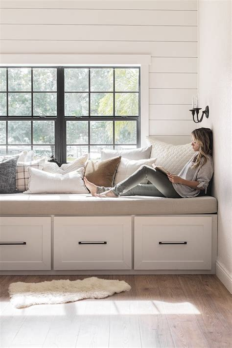Bedroom Window Storage Bench Diy Plans