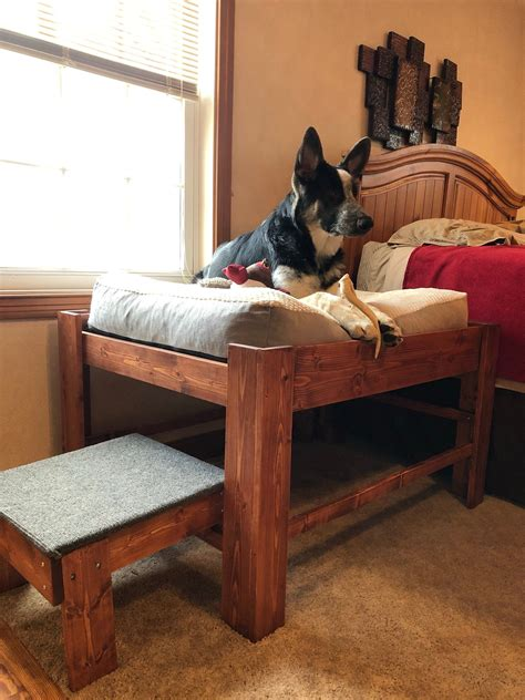 Bedside Dog Bed Diy With Stairs