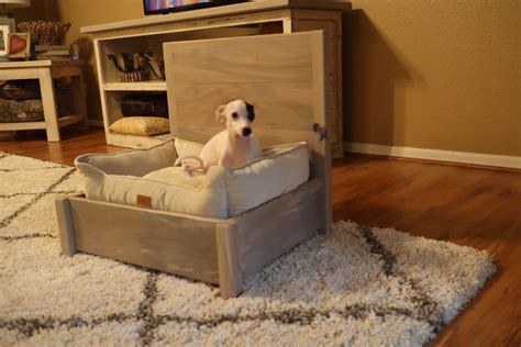 Bedside Dog Bed Frame DIY