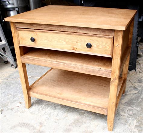 Bedside-Table-With-Drawers-Plans