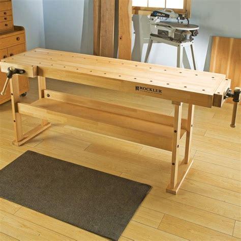 Beech-Woodworking-Bench
