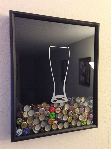 Beer Cap Collector Shadow Box DIY