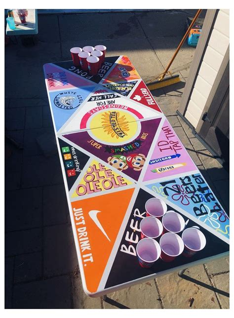 Beer Pong Table Designs DIY