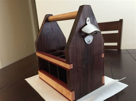 Beer Tote Plans Wooden