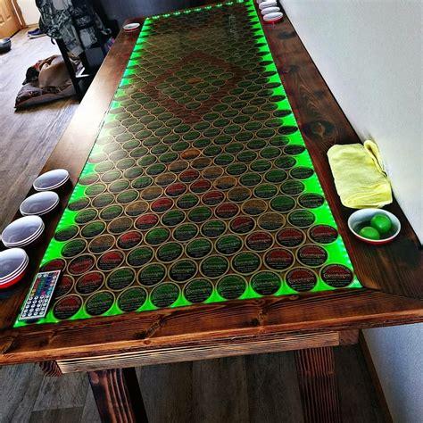 Beer-Pong-Table-Beer-Cap-Table-Diy
