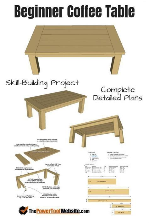Beginner Downloadable Woodworking Plans Free