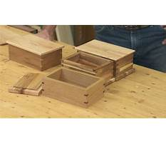 Best Beginner woodworking box projects