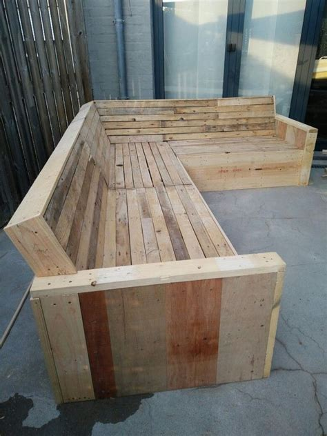 Beginners Garden Scrap Wood Bench Diy Pallet