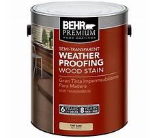 Best Behr weatherproofing wood stain.aspx