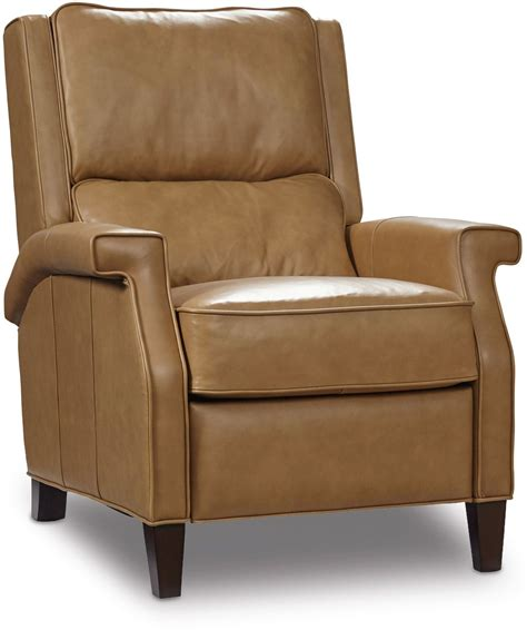 Beige Recliner Leather