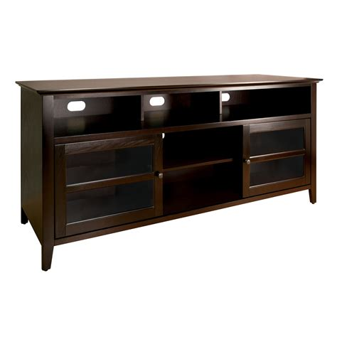 Bell'O 63-Inch Tv Stand In Dark Espresso