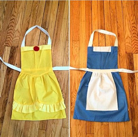 Belle Apron Diy Ideas