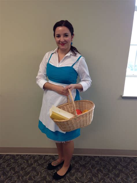 Belle Diy Costume