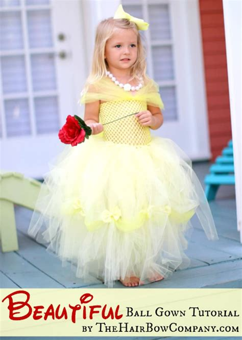 Belle Diy Tutu Costume