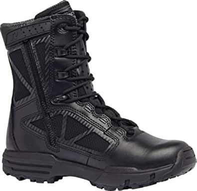 Belleville 998Z WP Chrome Side Zip Waterproof 8 Inch Boot, 11