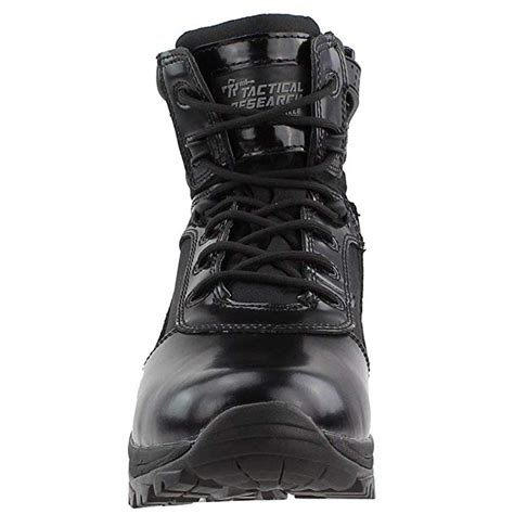 Belleville Class-A TR906Z 6' High Shine Side Zip Boot, Black