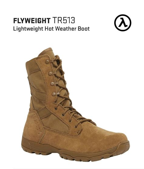 Belleville Flyweight TR513 Hot Weather Boots