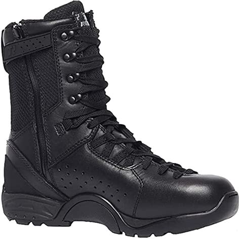 Belleville QRF Alpha B9Z1 9' Side Zip Boot, Polishable Toe