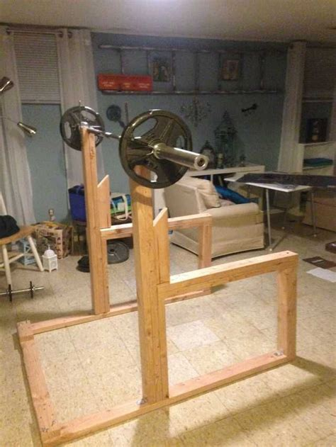 Bench And Squat Rack Diy Crafts