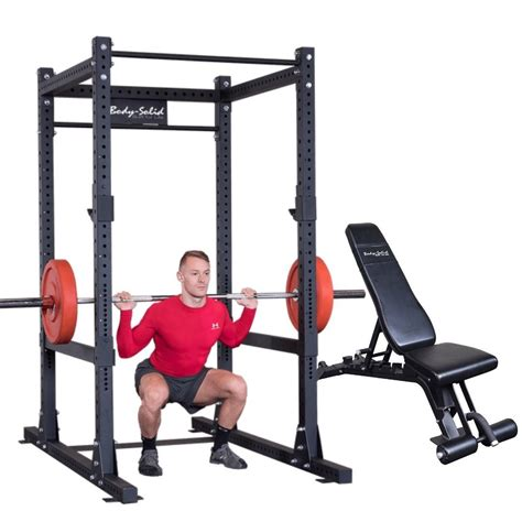 Bench And Squat Rack In One