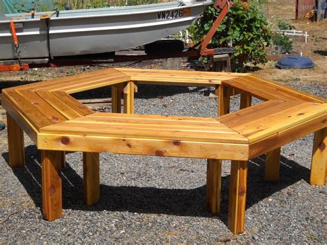Bench Around Tree Plans