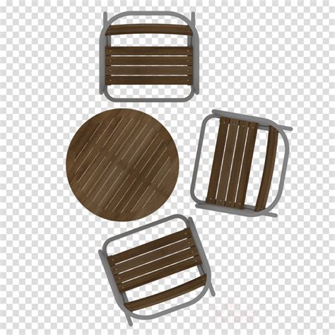 Bench In Plan Png