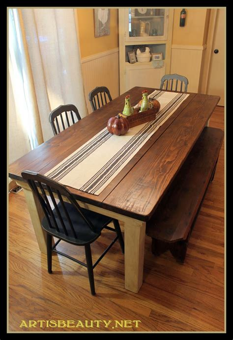 Bench Kitchen Table Diy