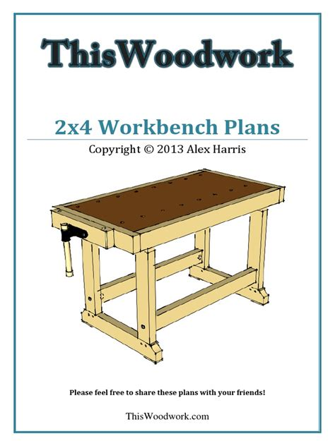 Bench Plans Pdf Books