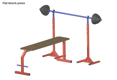 Bench Press Design Plans