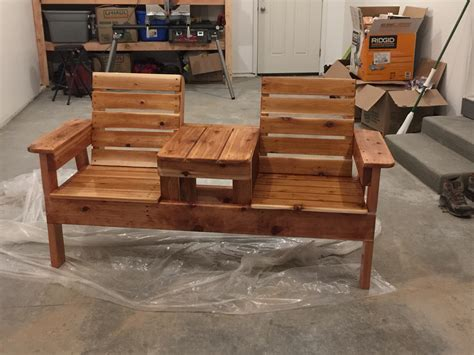 Bench Seat And Table Plans
