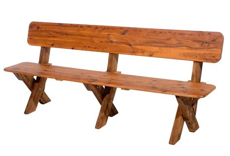 Bench Seat With Back Plans