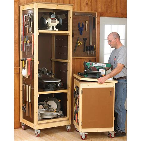 Bench Tool System Woodworking Plan Free