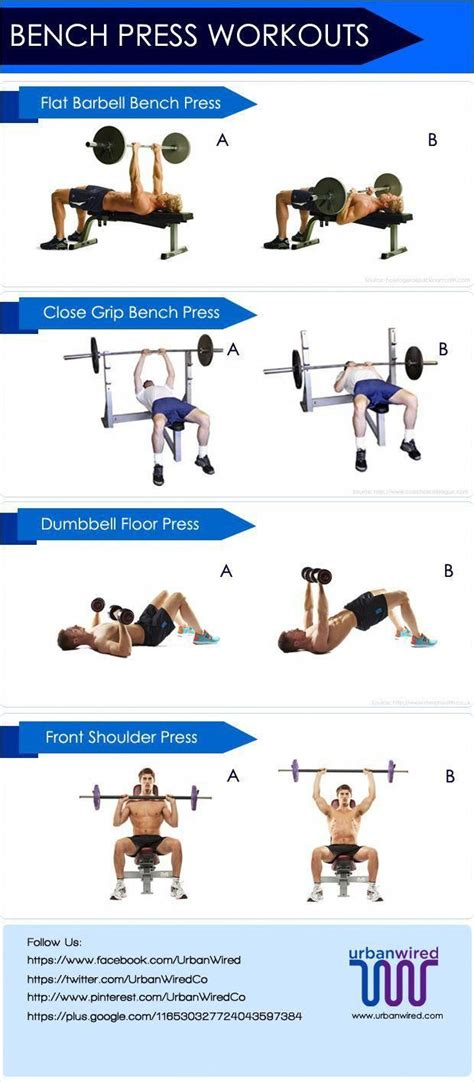 Bench Workout Routine Image