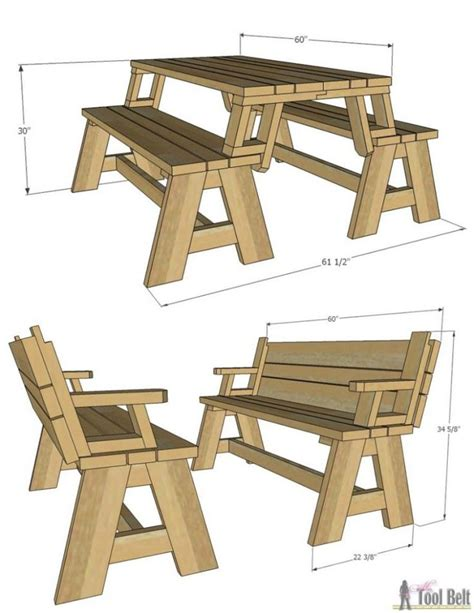 Bench-Turns-Into-Picnic-Table-Plans-Free
