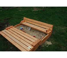 Best Bench sandbox plans