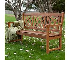 Best Benches for outdoor use