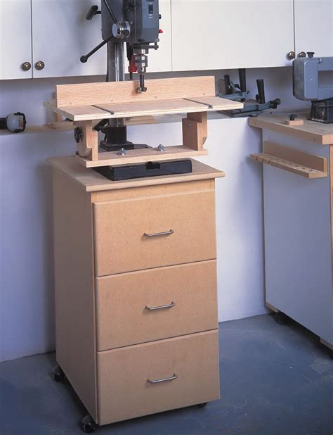 Benchtop Drill Press Cabinet Plans