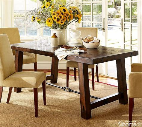 Benchwright Dining Table Diy Finger