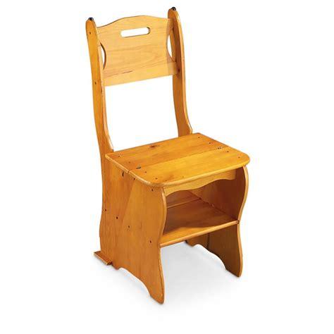 Benjamin-Franklin-Step-Stool-Chair-Plans
