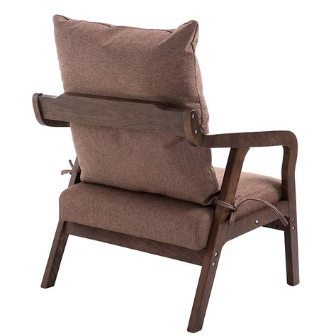 Bentwood And Metal Frame Accent Chair