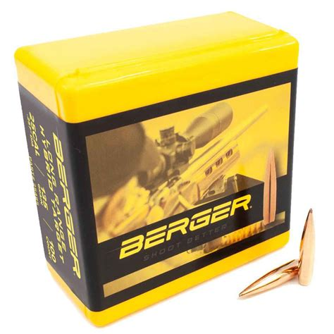 Berger Bullets  Bullets  Reloading  Shooting .
