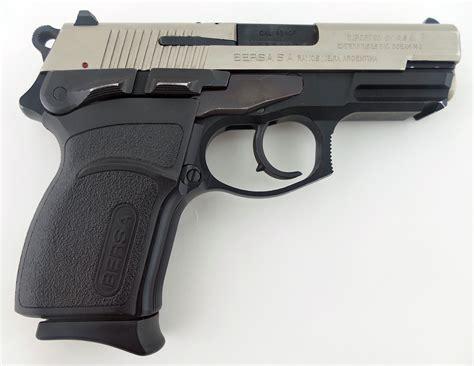 Bersa 45 Handgun And Best 556 Handgun